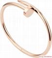 cartier juste un clou bracelets rose