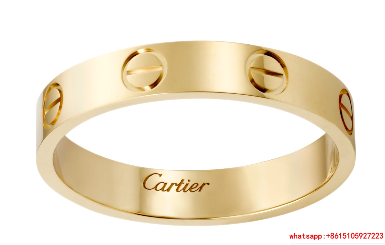 cartier love wedding band yellow gold rings cartier rings  1