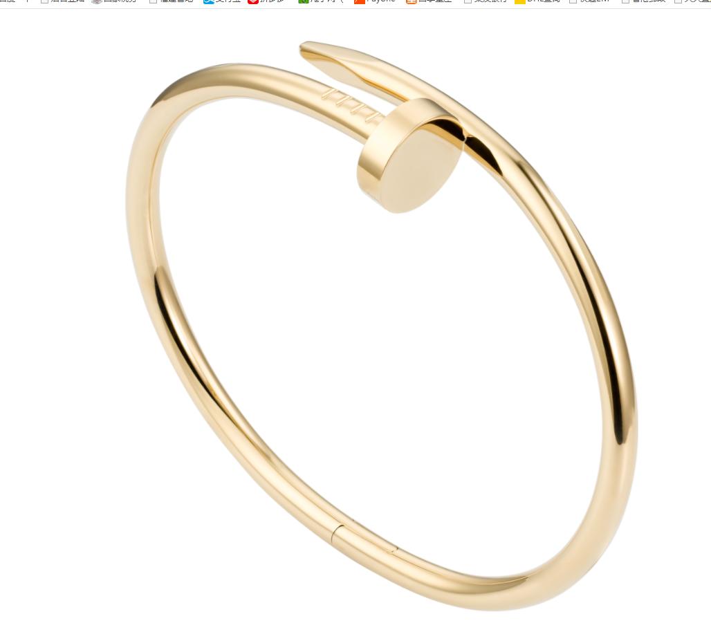 cartier juste un clou bracelets yellow gold  cartier bracelet 1