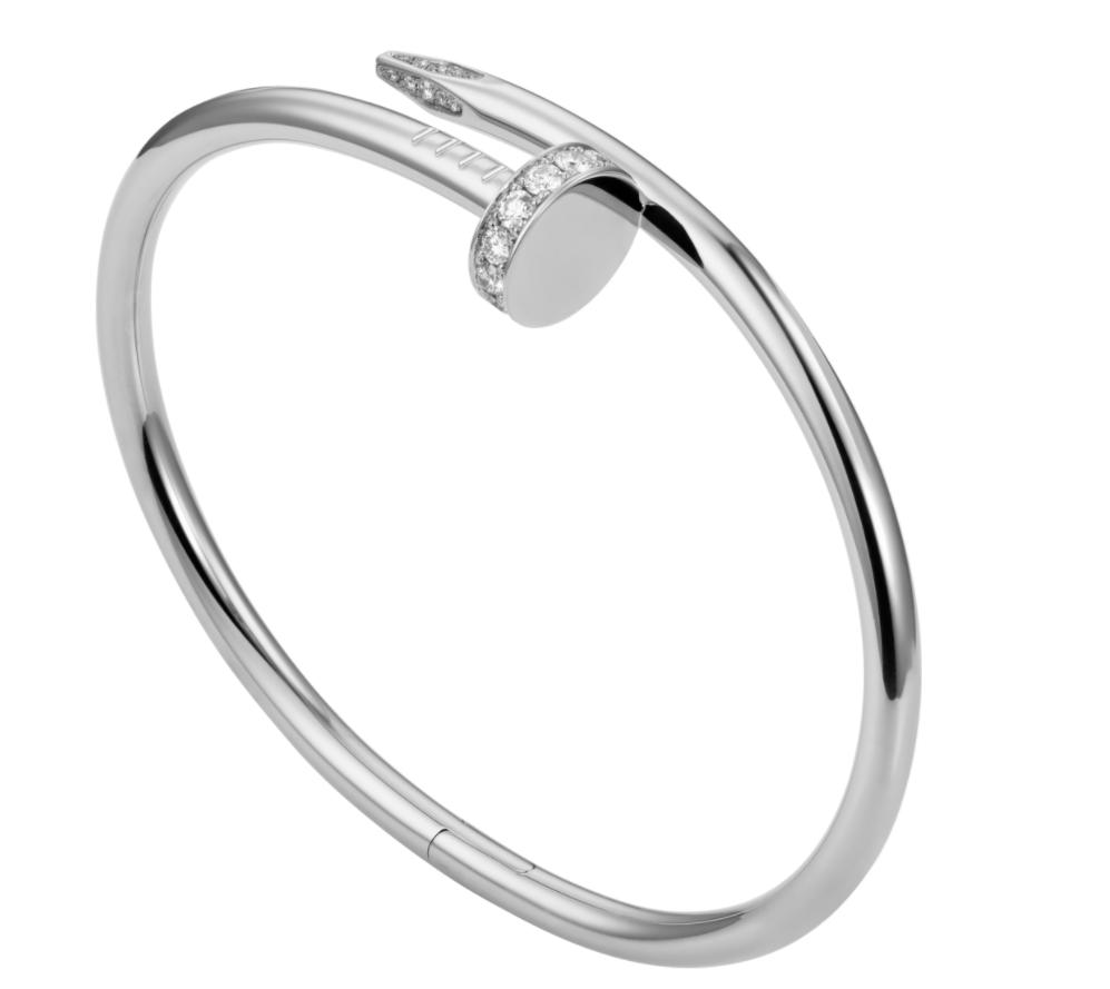 cartier juste un clou bracelet white gold cartier bracelet 1