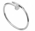 cartier juste un clou bracelet white