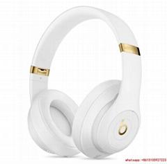 Beats Studio3 Wireless Over Ear Headphones White with headphone