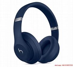 Beats Studio3 Wireless Over‑Ear Headphones Blue with hard case