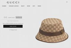 Gucci GG canvas fedora gucci hats monogram canvas gucci hats gucci  fedora hats