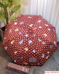 louis vuitton catogram umbrella Orange Brown lv umbrella