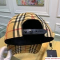 burberry vintage check and icon stripe baseball cap burberry cap burberry hats  6