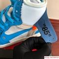 NIKE x OFF-WHITE The Ten Air Jordan 1 Light Blue x White Men's Sneakers nike  6