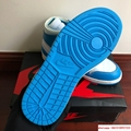 NIKE x OFF-WHITE The Ten Air Jordan 1 Light Blue x White Men's Sneakers nike  9