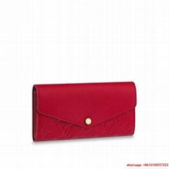 sarah wallet monogram empreinte Scarlet M63690