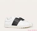 calskin open sneaker white black