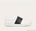 valentino calskin open sneaker white black valentino sneaker valentino shoes  2