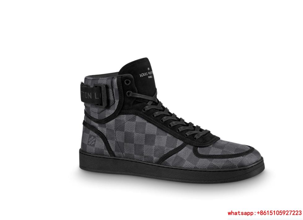 rivoli sneaker     sneaker    shoes  Damier Graphite canvas 1