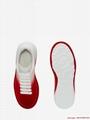alexander         oversized sneaker optic white lust red           shoes  3