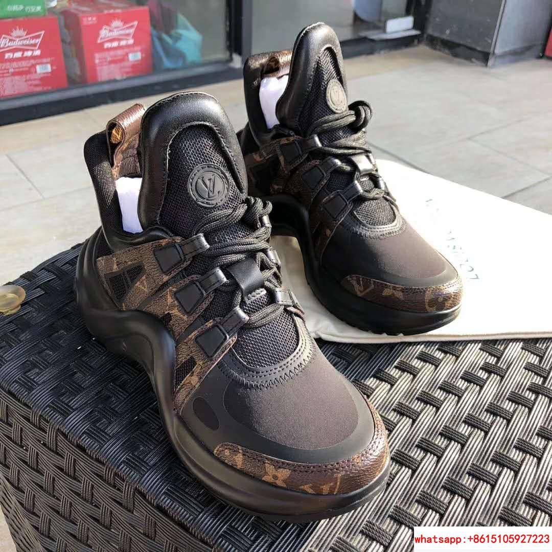 archlight sneaker Patent Monogram canvas             black women shoes     5