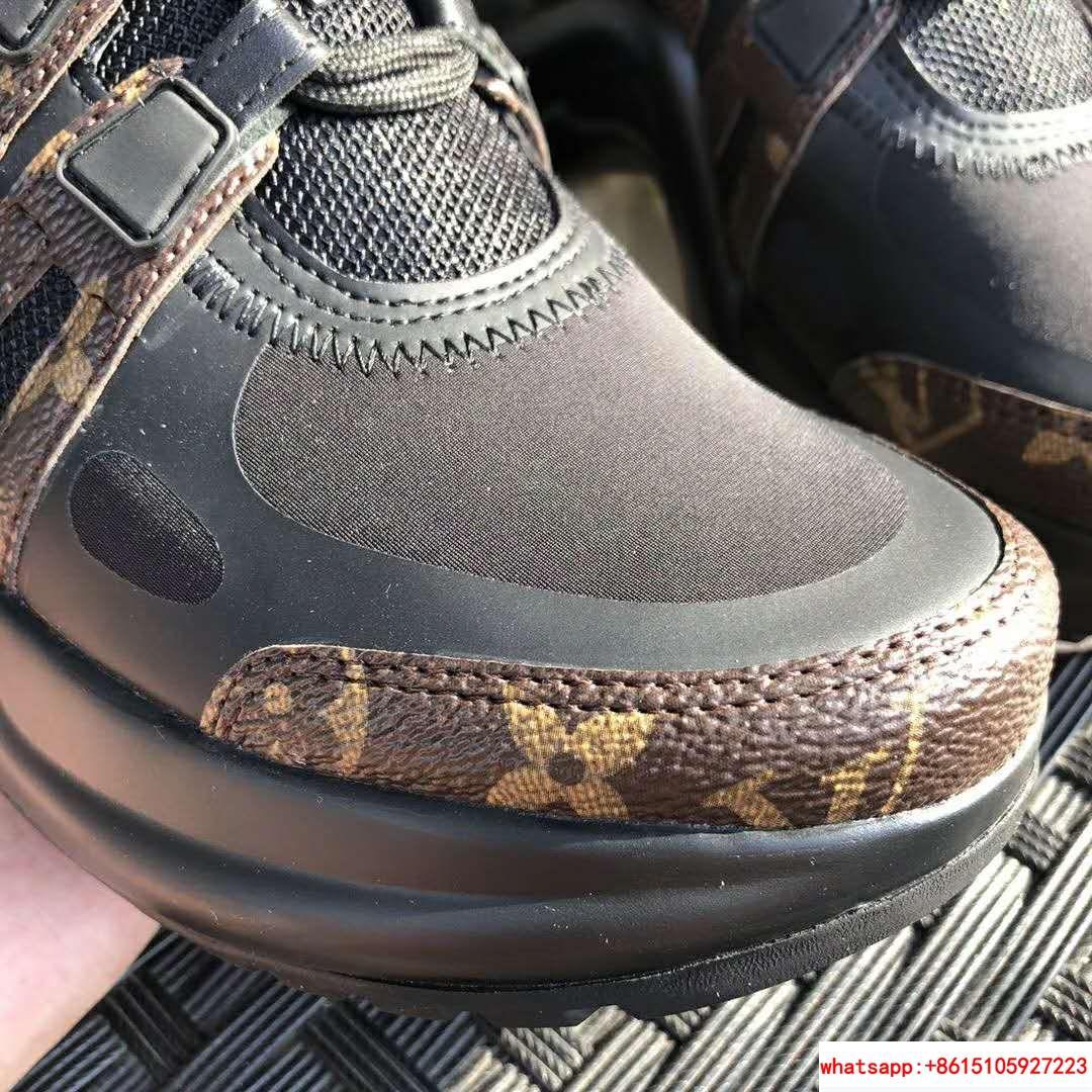 archlight sneaker Patent Monogram canvas             black women shoes     8