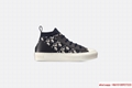 WALK'N'DIOR TECHNICAL KNIT OBLIQUE MID-TOP SNEAKER DIOR WOMEN SNEAKER DIOR SHOE  1