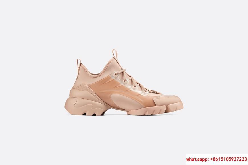 d connect sneaker in Nude Neoprene      women shoes KCK222NGG_S12U 2