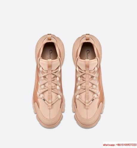 d connect sneaker in Nude Neoprene      women shoes KCK222NGG_S12U 3