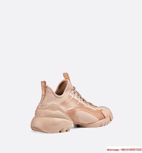 d connect sneaker in Nude Neoprene      women shoes KCK222NGG_S12U 4