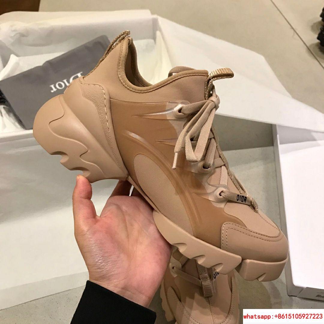 d connect sneaker in Nude Neoprene      women shoes KCK222NGG_S12U 7