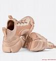 d connect sneaker in Nude Neoprene      women shoes KCK222NGG_S12U 5