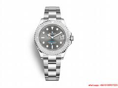 hotsale rolex yacht master 37 Oyster 37 mm Oystersteel and platinum rolex watch