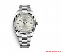 hotsale rolex datejust Oyster  41 mm  Oystersteel and white gold rolex watch
