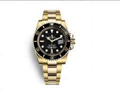 rolex submariner date Oyster 40 mm yellow gold rolex watch