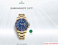rolex submariner Oyster  40 mm  yellow gold rolex watch 116618LB