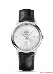 omega de ville prestige co axial power reserve 39.5 mm omgega watch