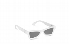 louis vuitton skepticals sunglasses Z1162W lv sunglass Matt White/White acetate
