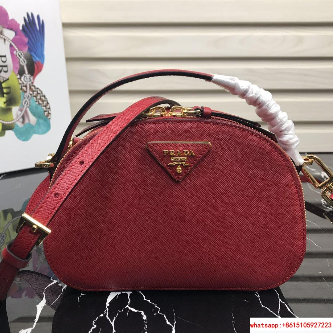 Odette Saffiano leather bag       bags  red   iconic saffiano leather   7