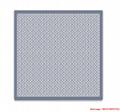 monogram denim shawl  Bleu Clair    shawl M71382  3