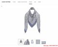 monogram denim shawl  Bleu Clair    shawl M71382  2
