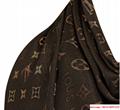 so shine monogram shawl  M71548    shawl  4
