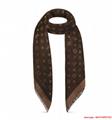 so shine monogram shawl  M71548    shawl  3
