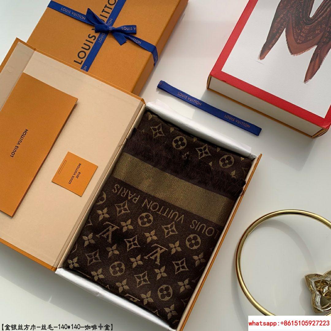 so shine monogram shawl  M71548    shawl  8