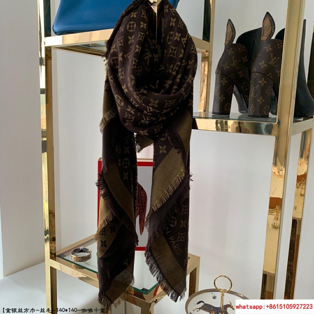 so shine monogram shawl  M71548    shawl  9
