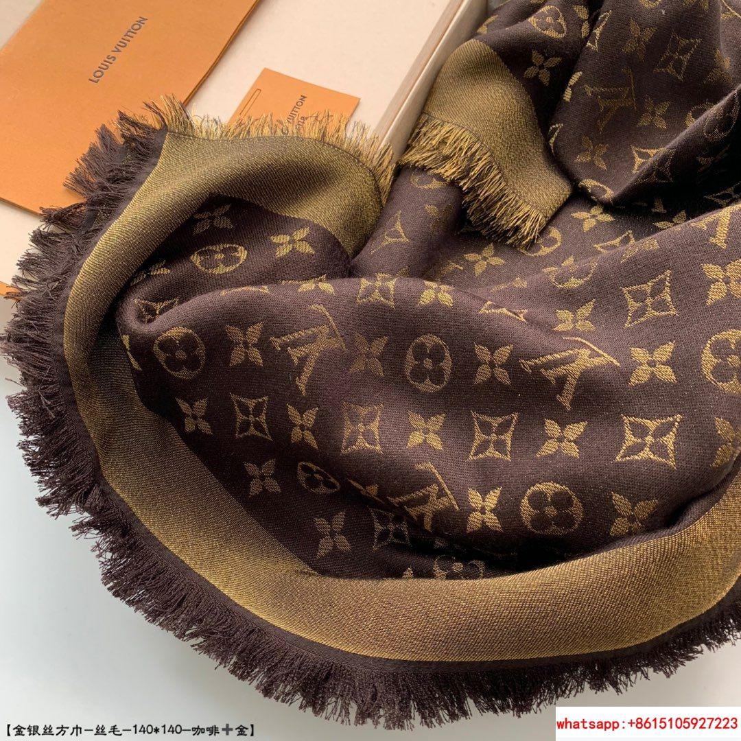 so shine monogram shawl  M71548    shawl  10