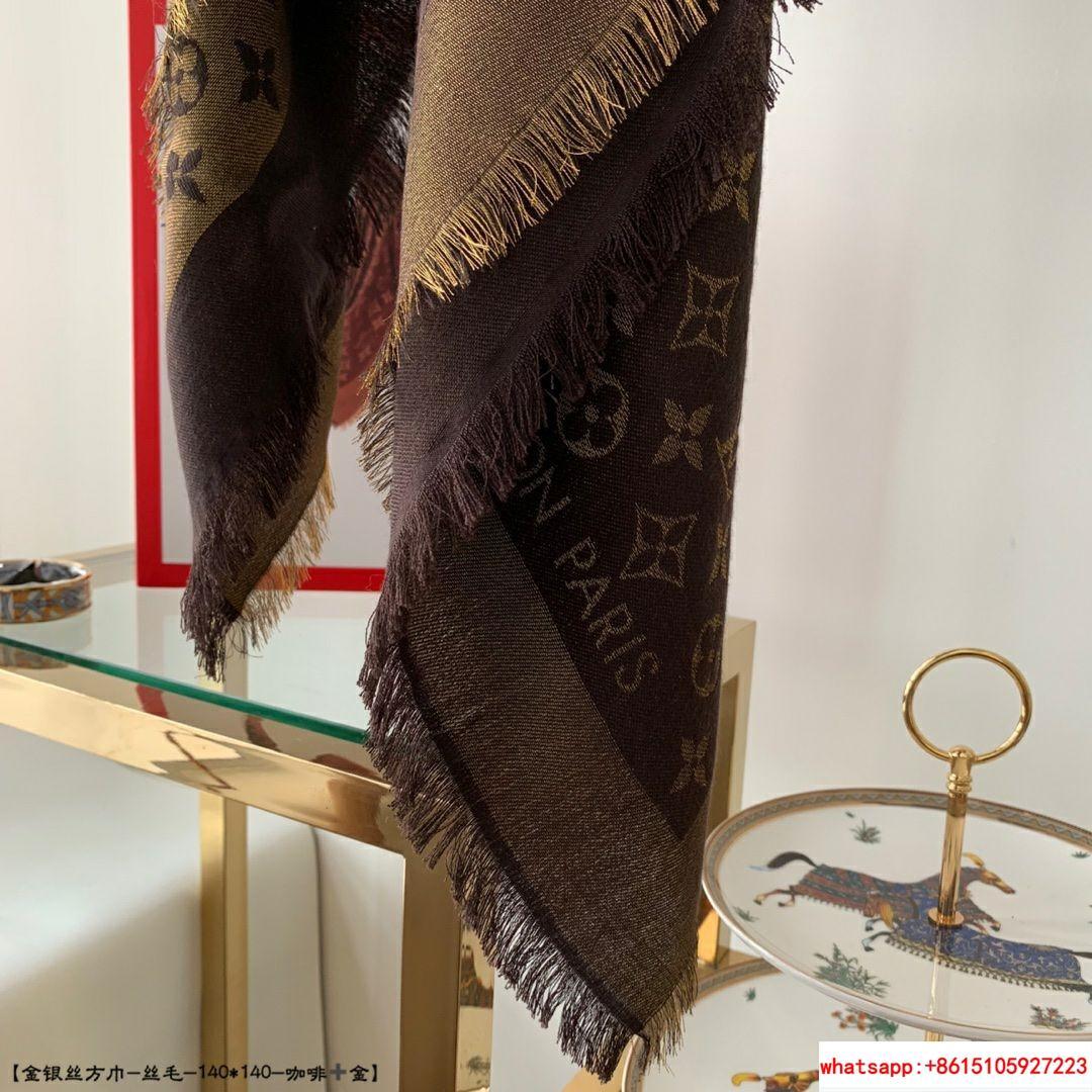 so shine monogram shawl  M71548    shawl  11