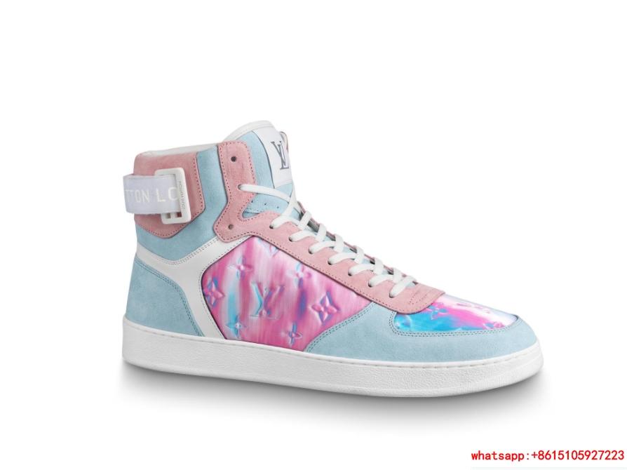 louis vuitton rivoli sneaker boot 1A5HEO lv sneaker  1