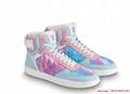 louis vuitton rivoli sneaker boot 1A5HEO lv sneaker  4