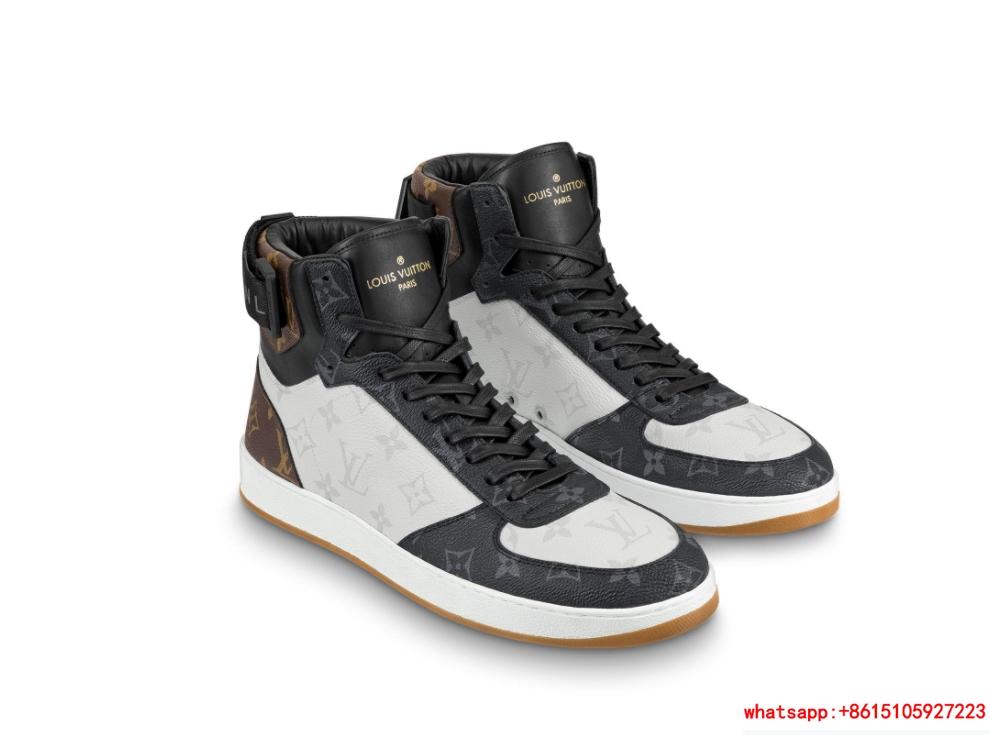 c53cd3bb97f louis vuitton rivoli sneaker boot Monogram canvas 1A44VV lv sneaker ...