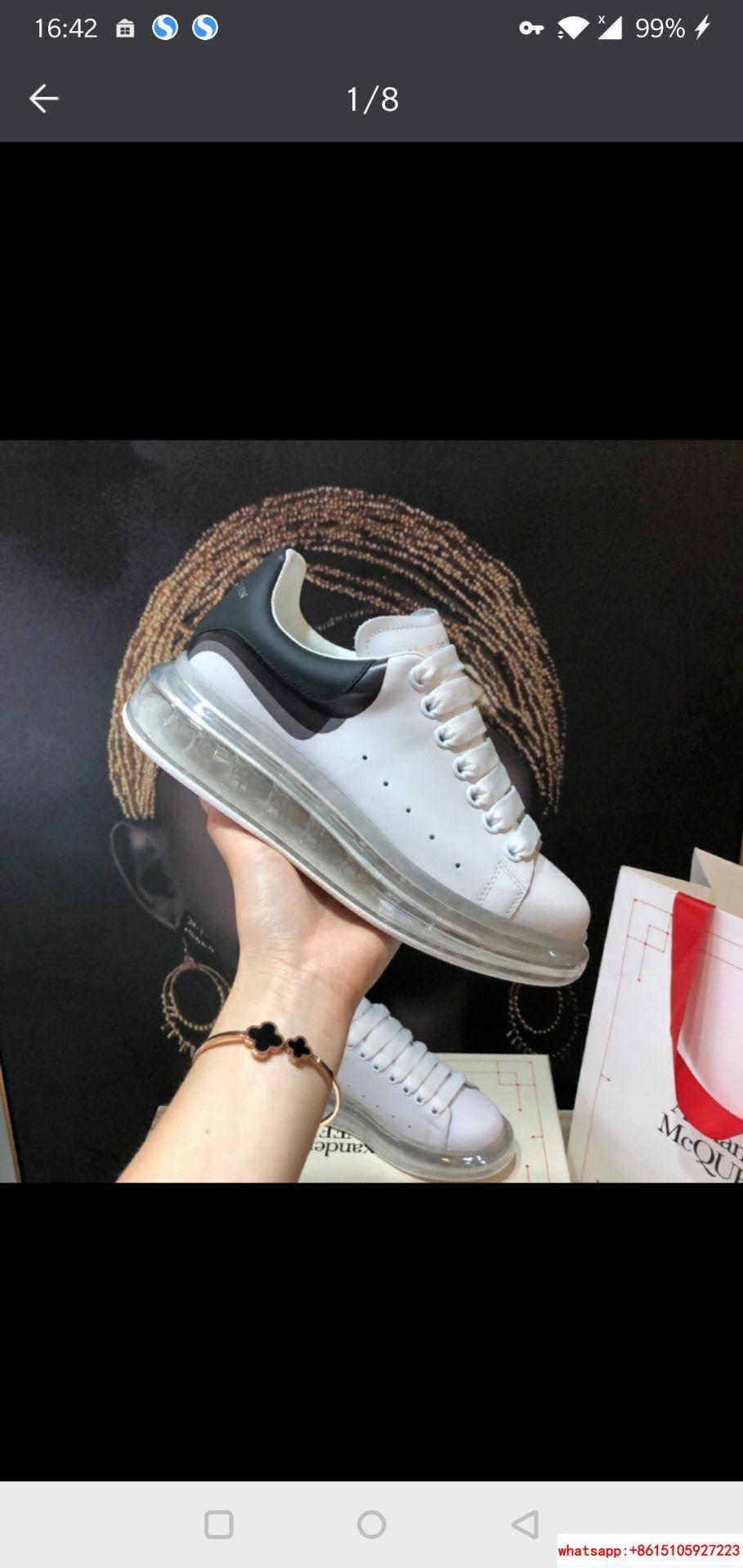 alexander         oversized sneaker         sneaker air cushion bottom  9
