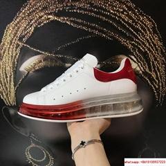 alexander mcqueen oversized sneaker crystal air cushion sneaker