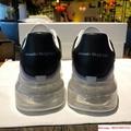 alexander         oversized sneaker air cushion sneaker 100% calfskin 7