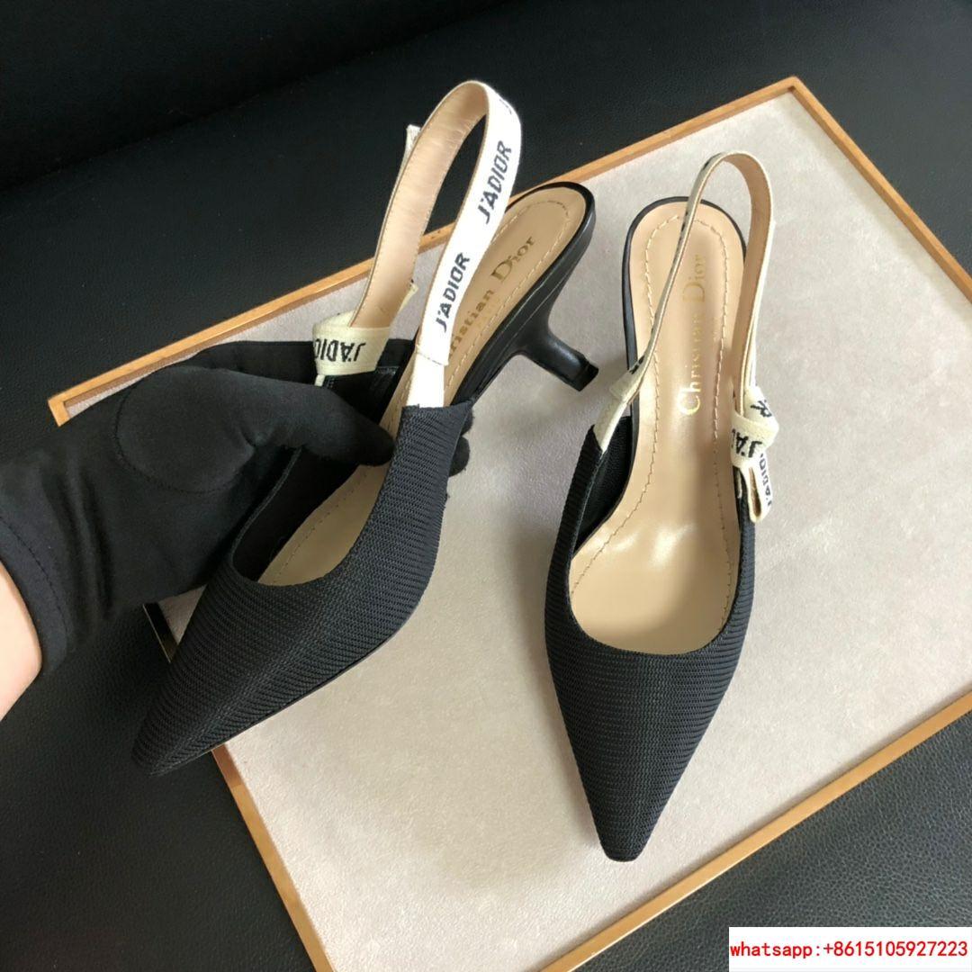 j'a     slingback in black technical fabric 6.5 cm comma heel      pump heels  10