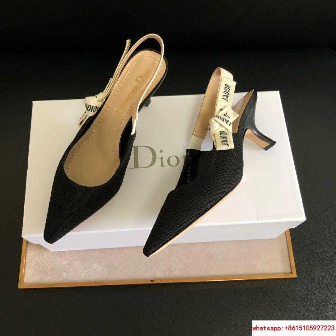 j'a     slingback in black technical fabric 6.5 cm comma heel      pump heels  11
