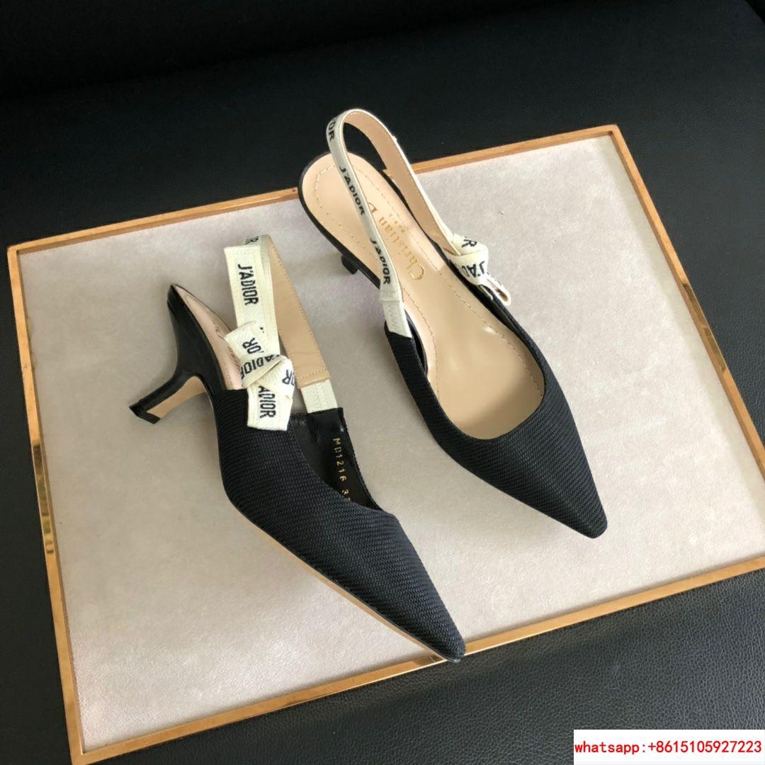 j'a     slingback in black technical fabric 6.5 cm comma heel      pump heels  12