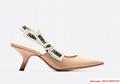 j'a     patent calfskin slingback shoe